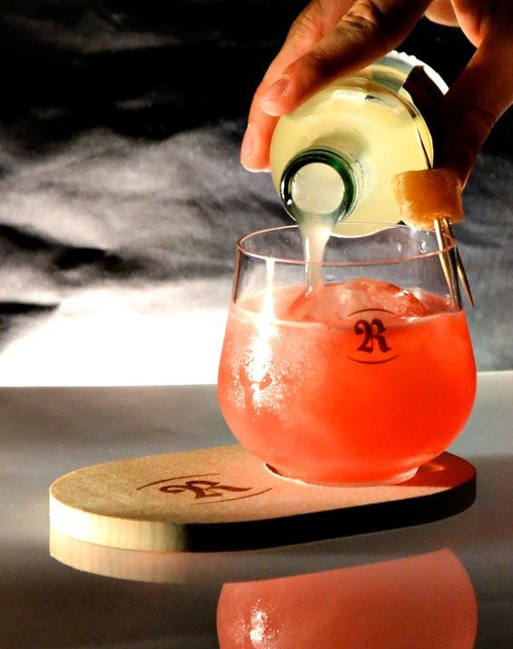 Ginger Berry Collins