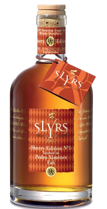 Slyrs - Bavarian Whisky PEDRO XIMÉNEZ FINISH EDITION N°3